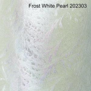 Dekoratiivpaber Frost Pearl white