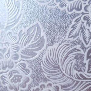 India käsitööpaber Feathers Dull Silver