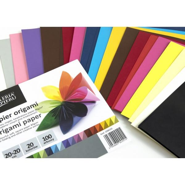 origami värviline paber